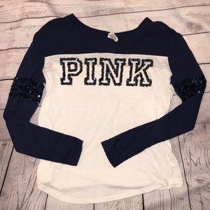 Pink Baseball Tee Size XS